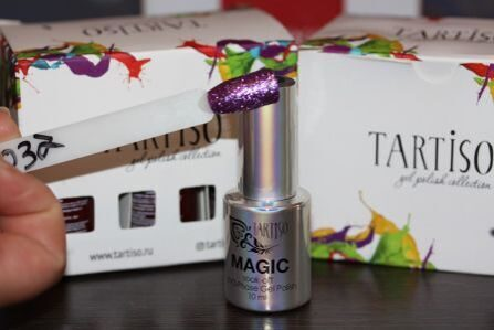 Гель-лак Tartiso Magic TMGC-37, 10 мл